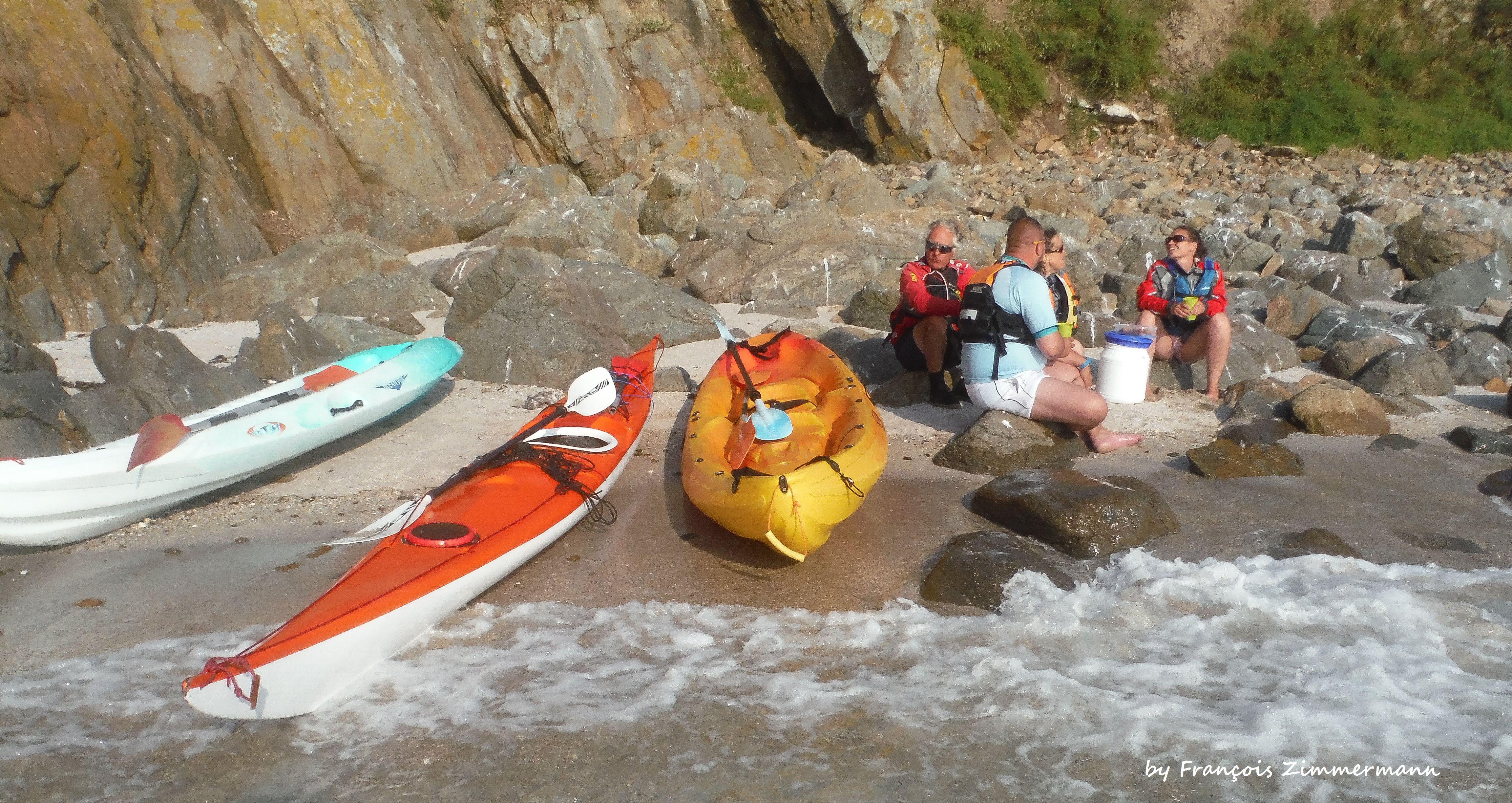 balade gourmande en kayak